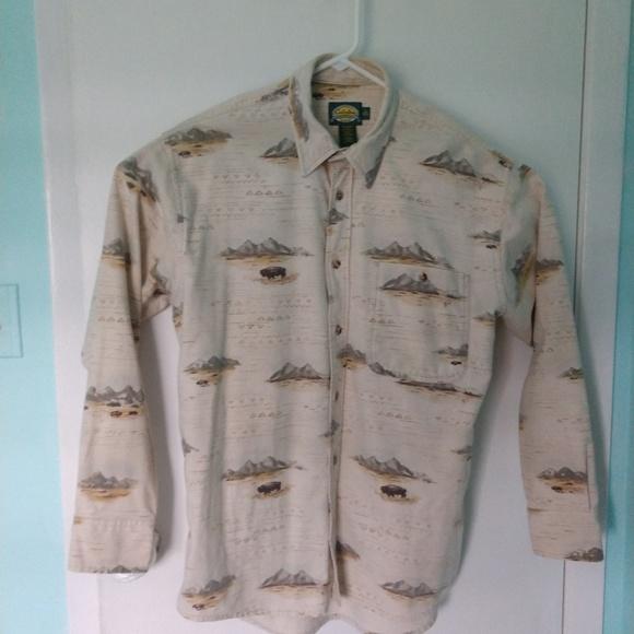 Cabela's Other - Cabelas Men Long Sleeve Button Up Flannel